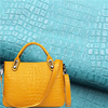 artificial bag leather embossied snake skin matte 100% pu synthetic leather fake leather for bag raw material shoes