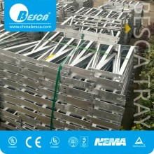 Galvanized Steel Wire Mesh Tray Unistrut Brackets For Cable Support