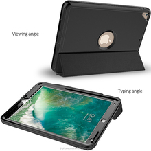 Anti-drop multifunctional full protective sleep wake leather case for iPad Pro 10.5 2017