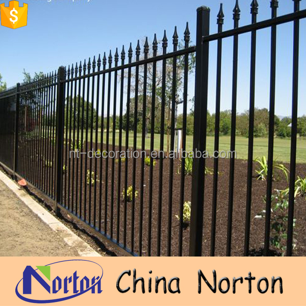 Forged metal solid barrier field fence panels for sale NTIF-013Y