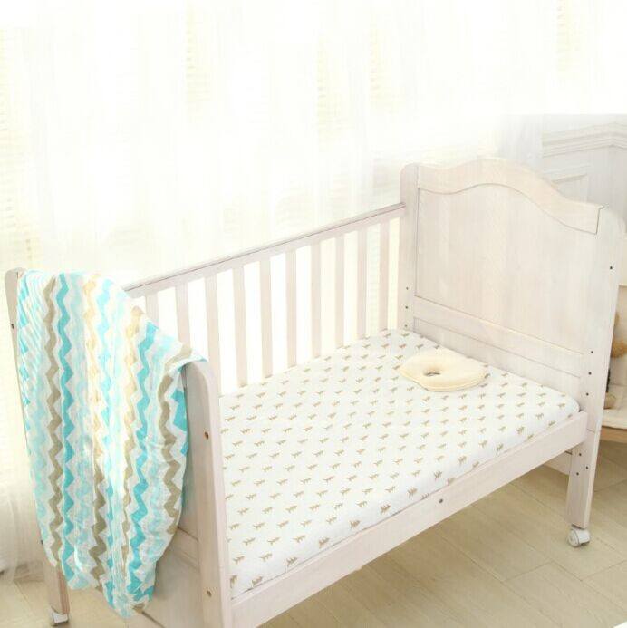 baby dog print cotton bedding quilt
