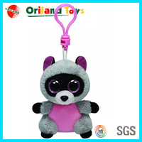 Cute style plush soft mouse keychain toy