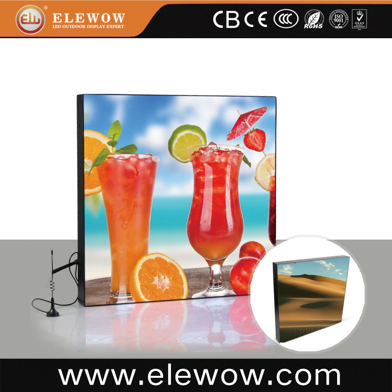 small pixel full color square led advertising screen for shopping mall sign