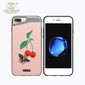 Embroidery model phone case,shockproof back cover case for iphone 6 glow cover