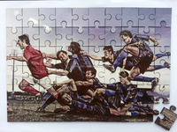 60PCS A4 printable wooden jigsaw puzzles,sublimation wooden puzzles