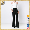 SHANGYI classic flared pants, flap-pocket flared pants, hippie pants