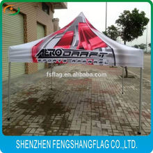 Service sublimation ink premium 3x3 aadvertising folding tent Marketing
