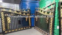 Wrought Iron Gates - A type of ornamental iron fences wrought Gates fencing