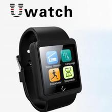 New BT Smart watch Black Uwatch UX Built- in Heart Rate Monitoring for Android IOS Sleep Monitor