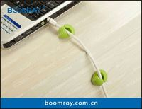 boomray factory 2014 hot selling TPR cable clips winder multipurpose 2013 gift fancy soap