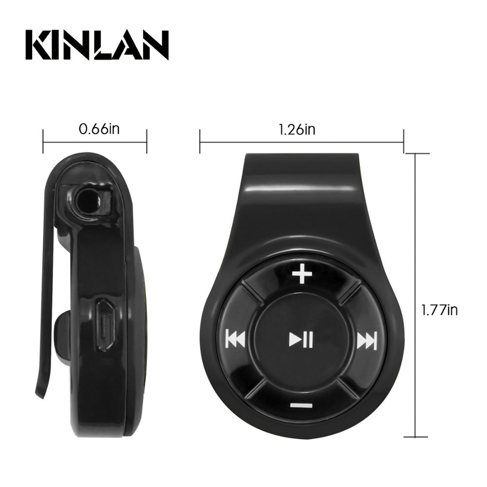 Kinlan Best Sellers wireless adapter 3.5mm Jack Bluetooth audio receiver stereo sound