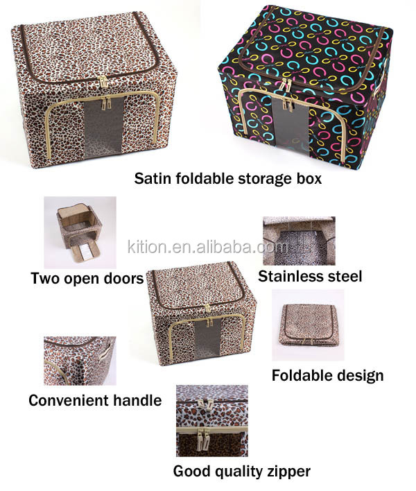 large waterproof clothes storage boxes foldable storage boxes