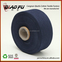 factory wholesale carded regenerated knitting cotton yarn, hand knitting yarn import