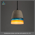 Contemporary countryside concrete body modern pendant light for home lighting