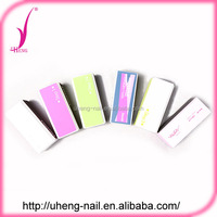 Customized printed pattern nail buffer shiner