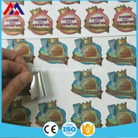 Professional manufacturer Supreme Quality adhesive pvc sticker label