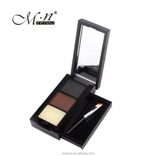 Menow E15001 make up Long lasting color eyebrow powder with brush