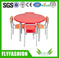 SF-21C Kids Furniture Wooden Children Table and Chairs Kindergarten Round Dining Table