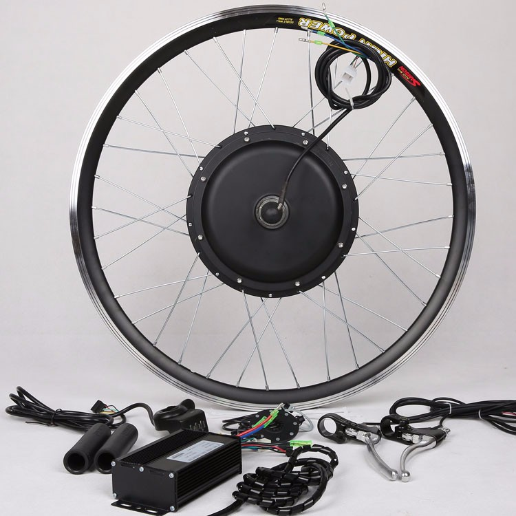 Electric Bicycle Motor Kit With Battery In India: Lithium Battery Electric Bike Kit-battery Included Ebike