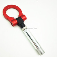 RED JDM FOLDING RING SCREW ON