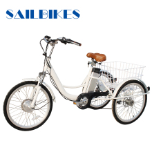europe motorized cargo use foldable adult tricycle