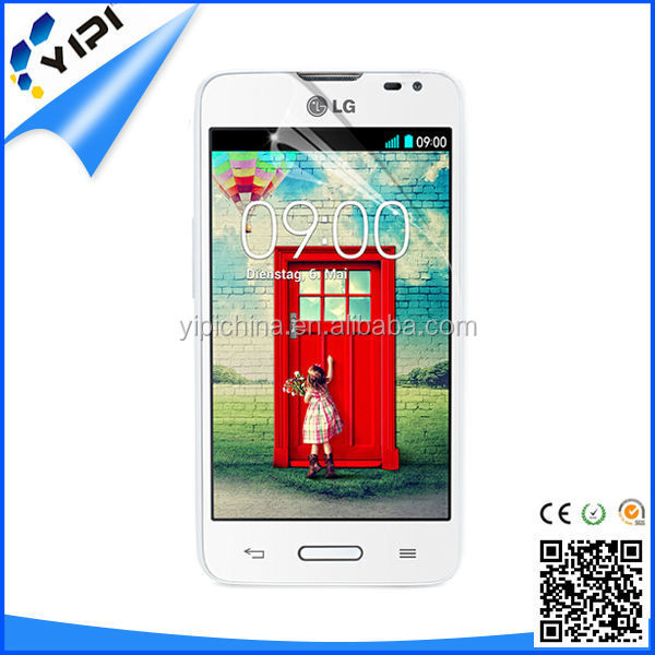 Japan PET material plastic film touch screen clear screen protector for LG L65 D280