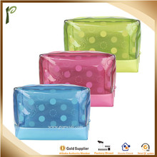 Popwide Clear EVA Water-resistant Dot Travel Cosmetic Bag