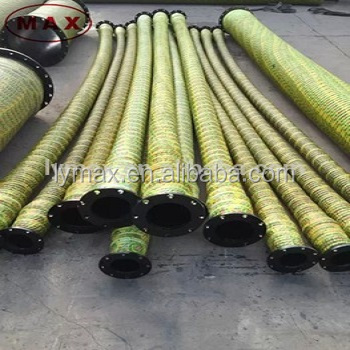 Supply 10'' Sand Suction Hose Pipe used for Sand Pumping Vessel