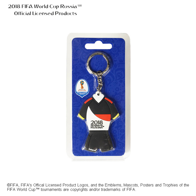 Russia Offical Licensed Products sports stainless steel personalized key chain