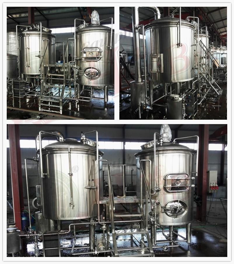 Hot Sale 500l Used Micro Beer Brewing Distillery Equipment