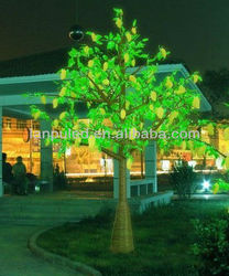atificial led decoration mango trees for sale