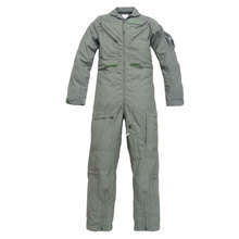 cwu-27/p Nomex Flight Suit with sage green color for pilot