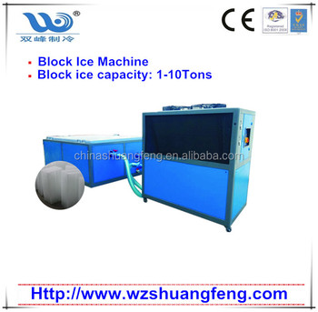 Small Block Ice Machine with 1tons capacity