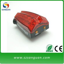 SanGuan RED laser bicycle light (SG-BL01)