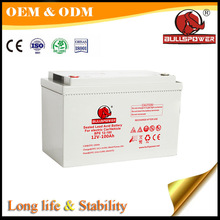 Hottest sale good deep cycle electric car battery 12v 100Ah