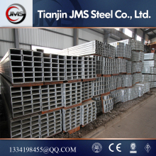 YSW 2016 80*80 hot rolled black coated steel square tube