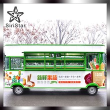 China Mobile Food Cart Fruit And Vegetable Truck and food Trailer For Sale