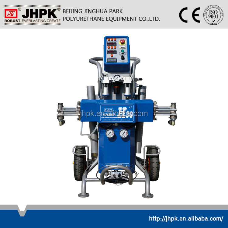 JHPK-H30 for roof insulation the smart polyurethane spray/injection foam machine