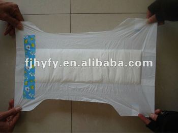 wetness-indicator, disposable, high quality, baby diapers in bales