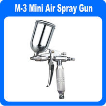 M3 Mini Gravity Feed Spray Gun Detail TOUCH-UP HVLP Sprayer Basecoat Auto Paint