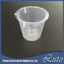 Laboratory 50ml Plastic Measuring Beaker Cup