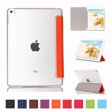 Stand Cover with Translucent Back Cover for Apple iPad Mini 4 Smart Case