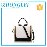 Premium Quality Customized Oem Shoulder Women Pu Leather Tote Shoulder Bags Handbags