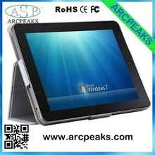 9.7inch win7 tablet pc quad core
