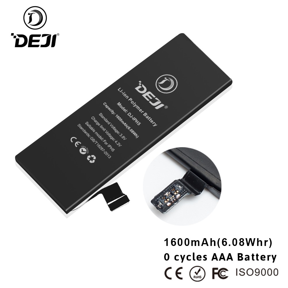 3.8V 1440 mAh Li-ion Replacement Battery for iPhone 5 with Tools and Instructions