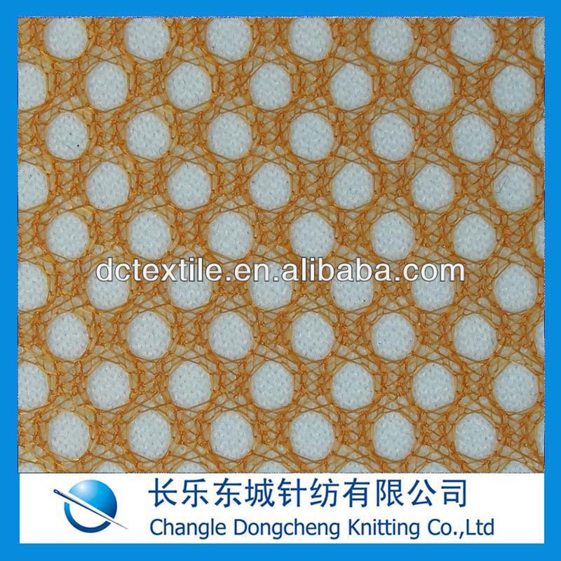 100 polyester cheap clear mesh fabric for lining