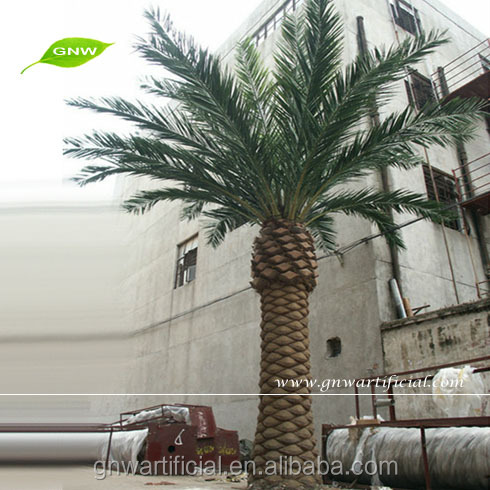 GNW APM015 The Date Palm with low prices Artificial Date Palm Trees for outdoor landscaping decoration