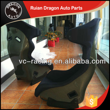 Factory Direct Sales All Kinds Of FIA Approval sew Velvet Fabric car seats (Carbon fiber)