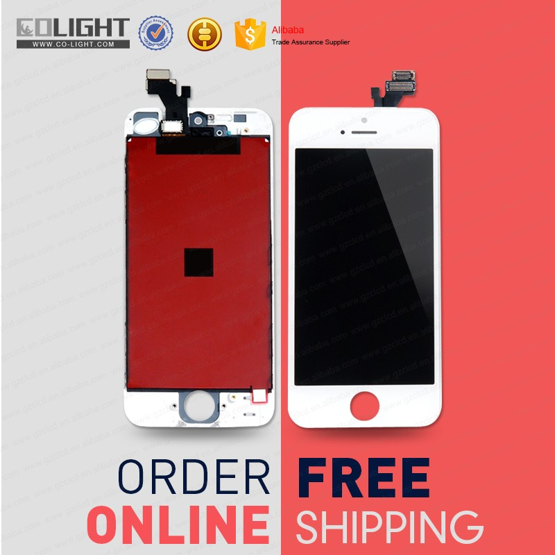 2017 free ship to order !! for iphone 5 <strong>lcd</strong>,for iphone 5 5g <strong>lcd</strong> display,<strong>lcd</strong> digitizer assembly for iphone 5g