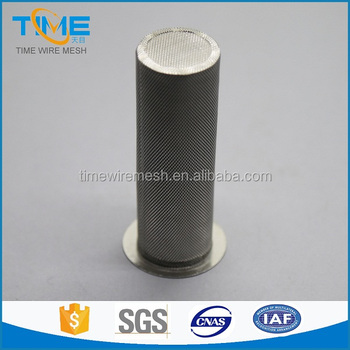 stainless steel woven wire mesh filter screen tubes